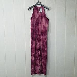 Anthro. Cloth & Stone Tie-Dye Jumpsuit
